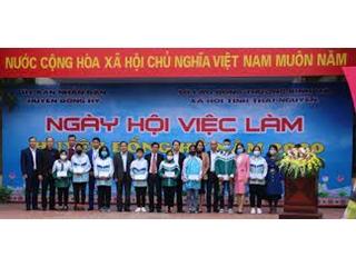 Ngày hội việc làm huyện Đồng Hỷ năm 2020