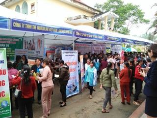 Ngày hội việc làm huyện Định Hóa năm 2020
